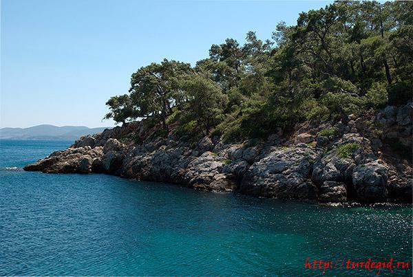 какие моря в Турции