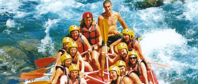 Рафтинг в Кемере - активный отдых в турции