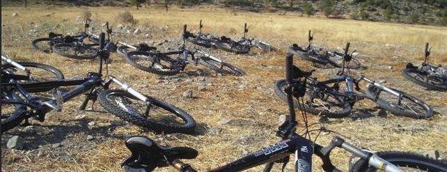 Прогулки на велосипедах в Кемере и окрестностях