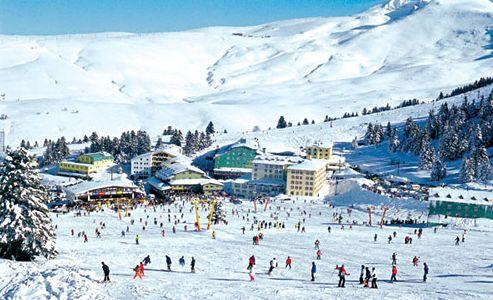 горнолыжный курорт Турции Улудаг
