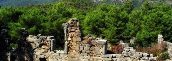 Античный город Фазелис в Турции