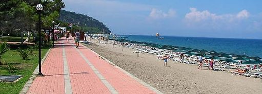 пляжи в бельдиби турция