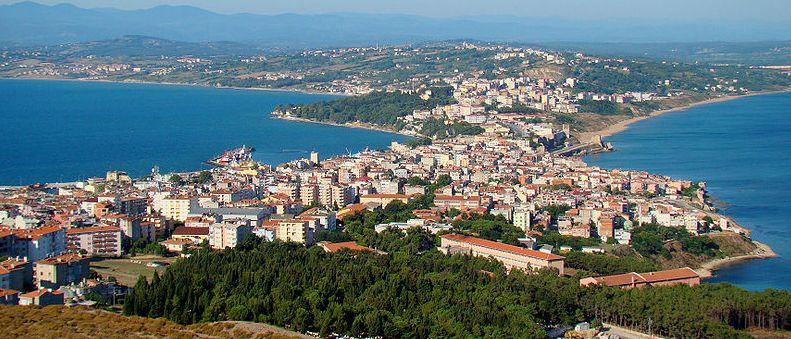 Синоп - древний город в Северной Турции