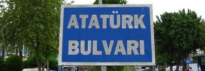 Бульвар Ататюрка в Кемере