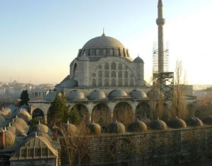 Мечеть Михримах Султан в Стамбуле