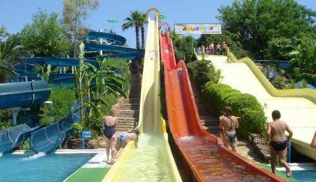 аквапарк дедеман турция