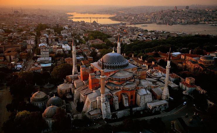 мечеть айя софия в стамбулe