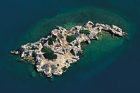 Остров кекова в турции