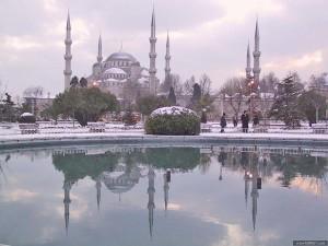 отдых зимой в стамбуле