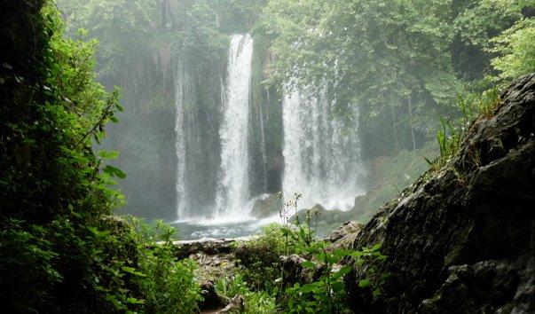 водопад верхний дюден