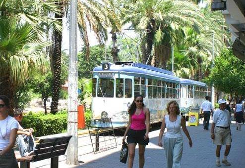 «историческая» трамвайная линия Nostalji (Ностальжи)