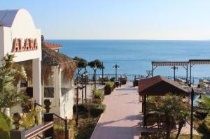 ресторан Alara на берегу моря