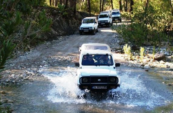 Jeep safari Alanya