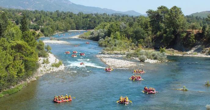 рафтинг по реке Кепрюлю