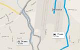 карта как доехать аэропорт анталия лара